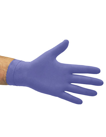 Hi Risk Examination Latex Glove Blue Powder Free Gloves Extra Large 50ea/Box