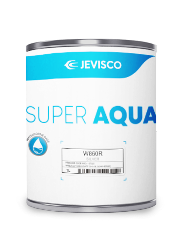 JEVISCO SUPER AQUA W860R Silver 1Lt/Can