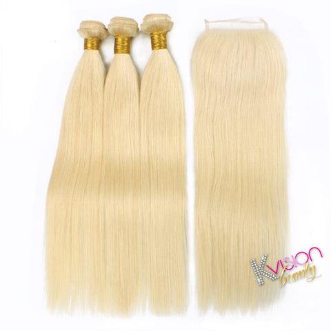 3 Bundle Blonde 1b613 Straight