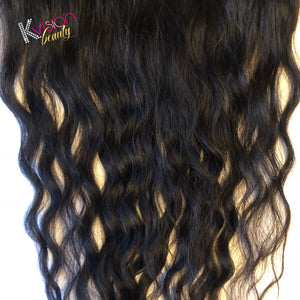 Raw Cambodian Rare Curly (Curly Wave) Frontal