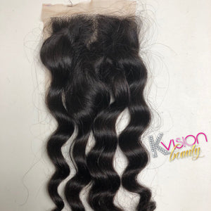 Virgin Loose Curl Closure