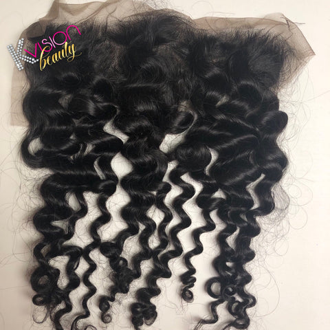 Virgin Loose Curl Frontal