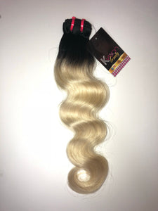 3 Bundle Blonde 1b613 Body Wave