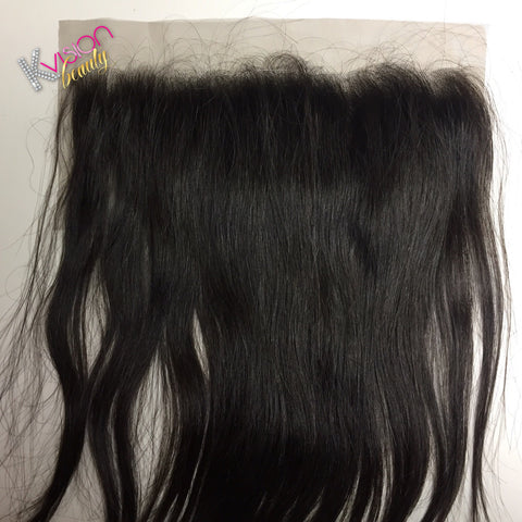 Raw Cambodian Natural Straight Frontal