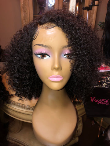 Lace Frontal Kinky Curl Wig