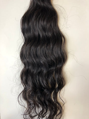 Raw Cambodian Wavy Closure