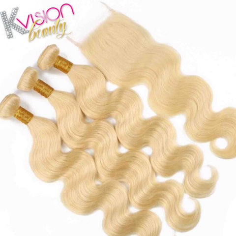 Blonde 613 Body Wave Closure