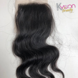 Raw Cambodian Body Wave Closure