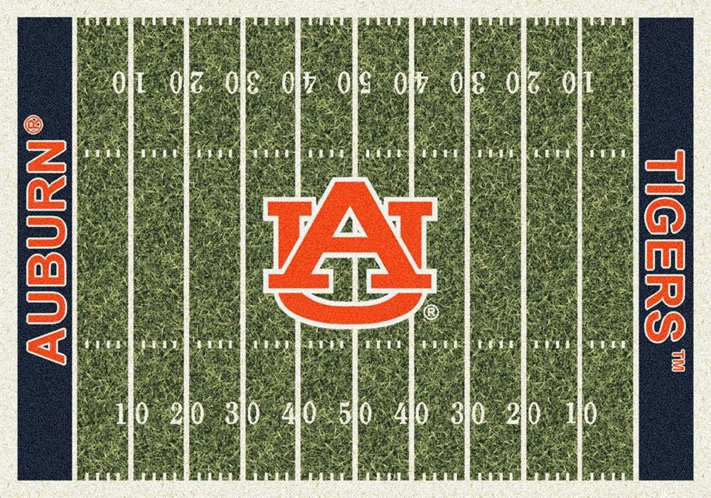 Auburn Area Rug University Football Field