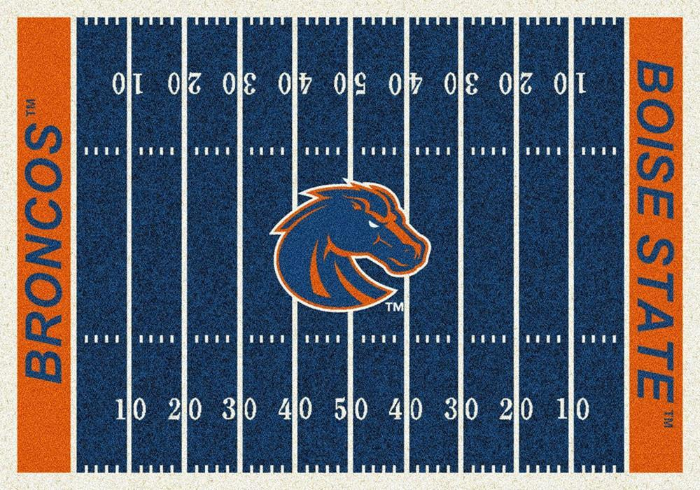 Boise State Football Field Rug
