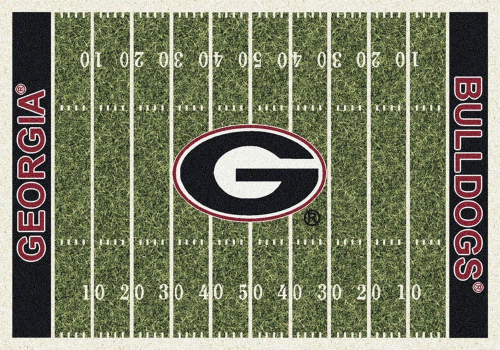 Georgia Area Rug University Football Field