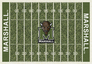 Marshall Area Rug University Football Field