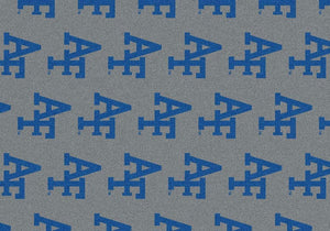 Air Force Area Rug University Repeating Logo