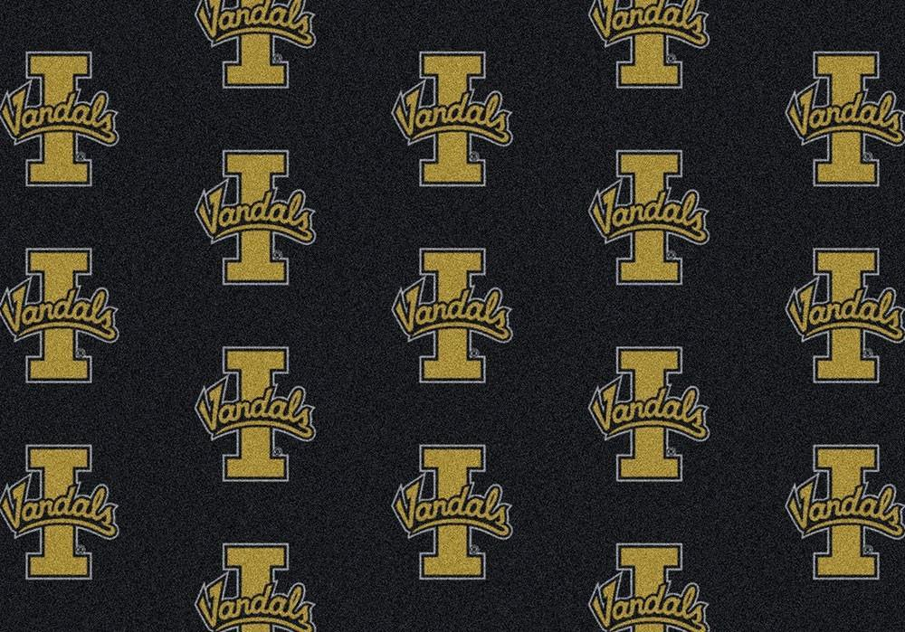 Idaho Area Rug University Repeating Logo