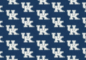 Kentucky Area Rug University Repeating Logo
