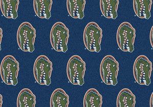 Florida Area Rug University Repeating Logo
