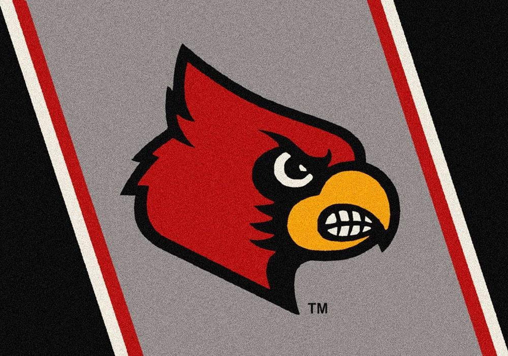 Louisville Area Rug University Team Spirit