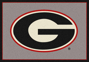 Georgia Area Rug University Team Spirit