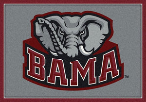Alabama Area Rug University Team Spirit