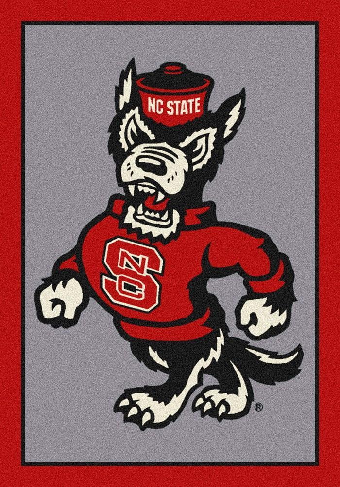North Carolina State Area Rug University Team Spirit