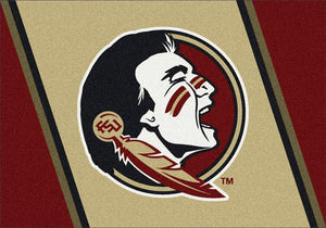 Florida State Area Rug University Team Spirit