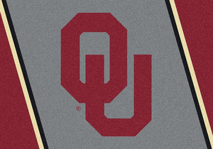 Oklahoma Area Rug University Team Spirit