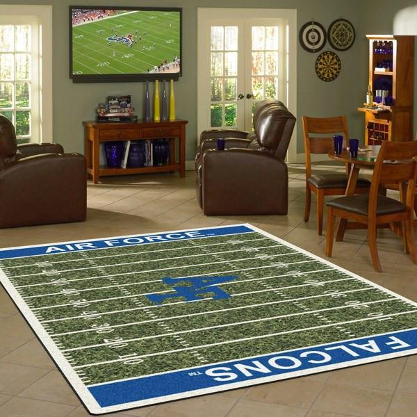 Air Force Rug University Football Field