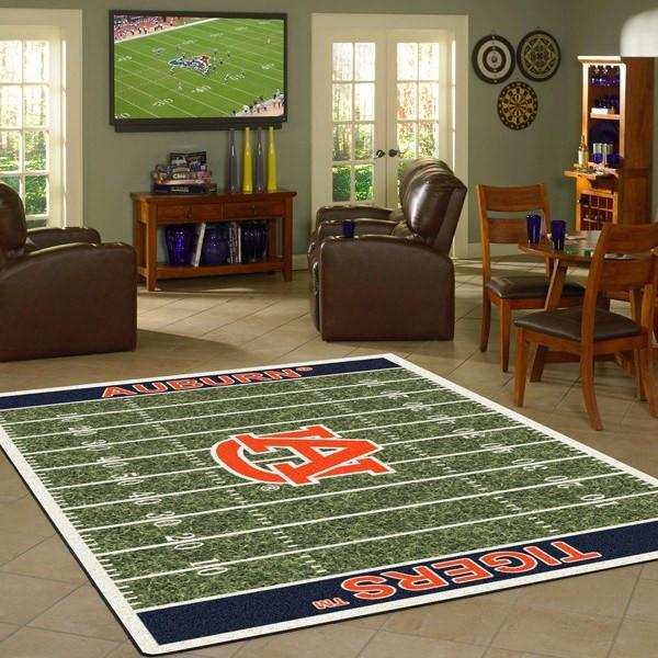 Auburn Football Field Rug