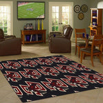 Boston College Rug Repeating Logo