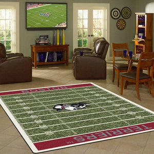 Boston Football Field Rug