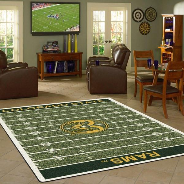 Colorado State Rug University Football Field