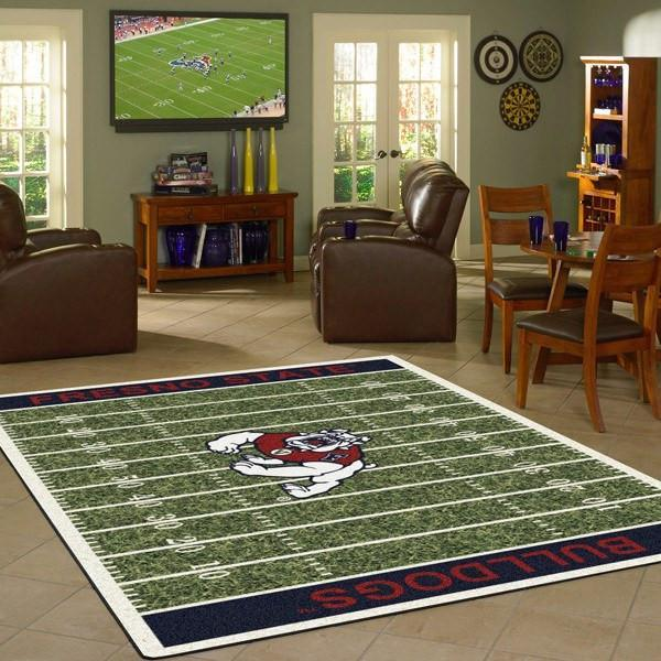 Fresno State Rug University Football Field