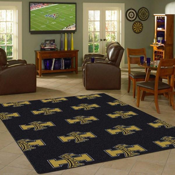 Idaho Rug University Repeating Logo