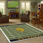 Iowa Rug University Football Field