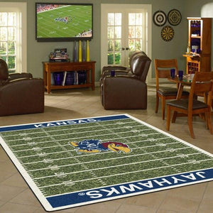 Kansas Rug University Football Field