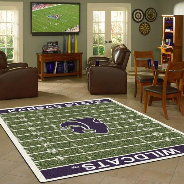 Kansas State Rug University Football Field