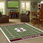 Mississippi State Rug University Football Field