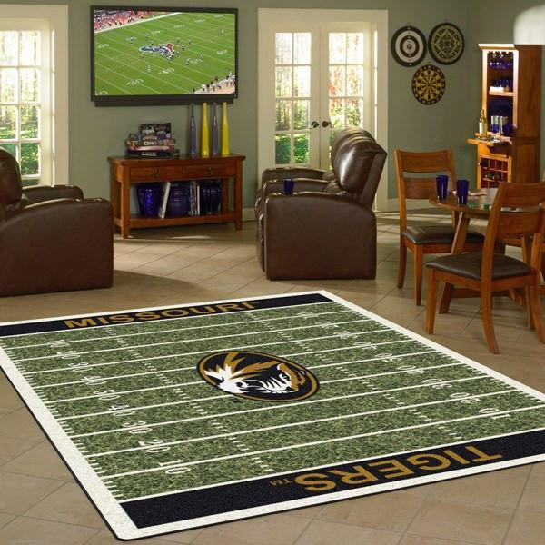 Missouri Rug University Football Field