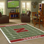 Nebraska Rug University Football Field