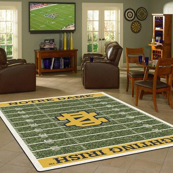Notre Dame Rug University Football Field