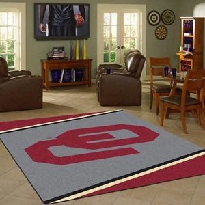 Oklahoma Rug University Team Spirit