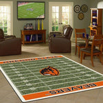 Oregon State Beavers Football Field Rug