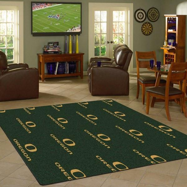 Oregon Rug University Repeating Logo