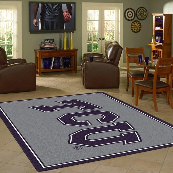 Texas Christian Rug University Team Spirit