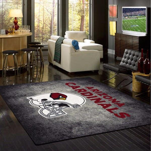 Arizona Cardinals Distressed Area Rug