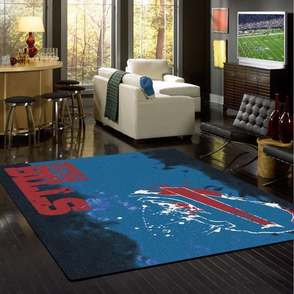 Buffalo Bills Rug Team Fade