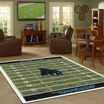 Carolina Panthers Football Field Rug