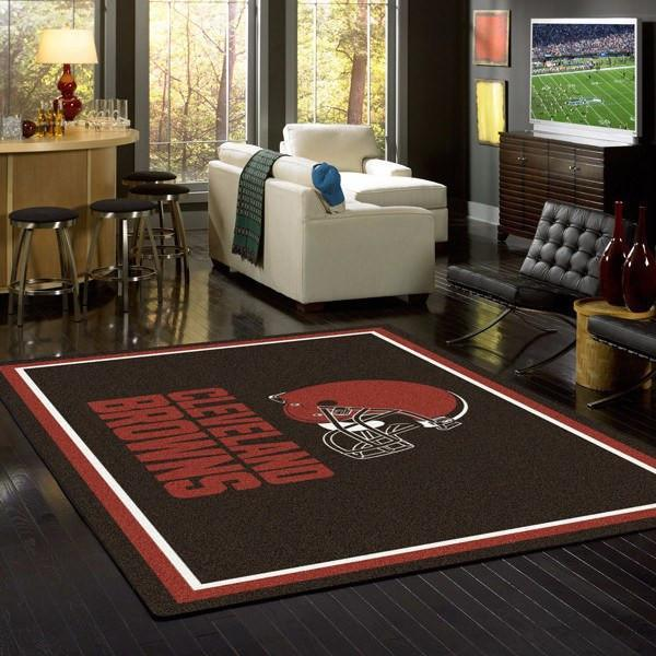 Cleveland Browns Rug Team Spirit