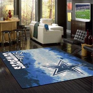 Dallas Cowboys Faded Area Rug