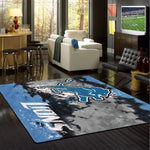 Detroit Lions Faded Area Rug